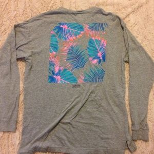 Victoria Secret PINK long sleeved comfy cotton tee